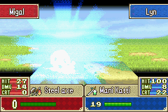 Fire Emblem - critical hit with lyn 2 - User Screenshot